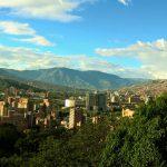 Blik op vallei, Medellin