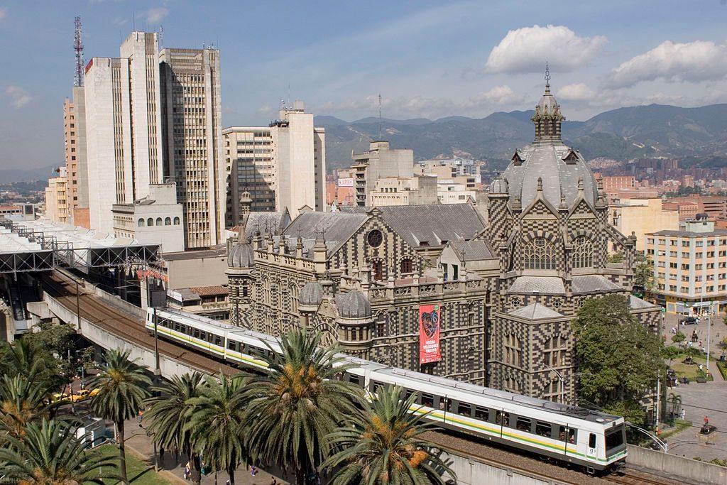 metro center Medellin, Colombia